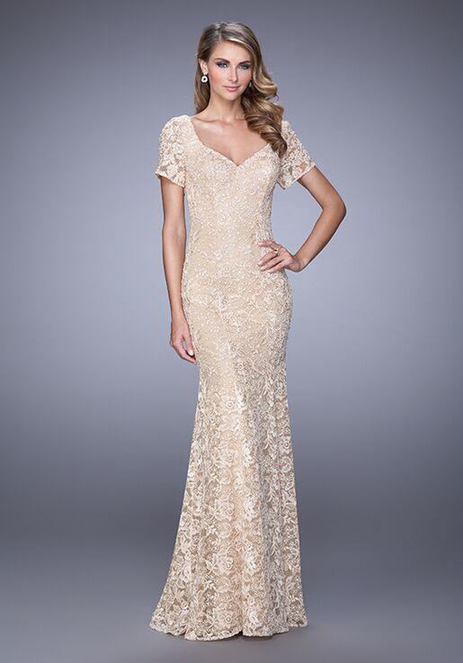 de4f0890f1 La Femme Evening 21657 Mother Of The Bride Dress - The Knot