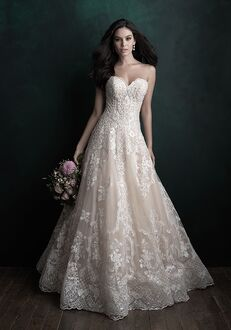 Allure Couture C512 Ball Gown Wedding Dress
