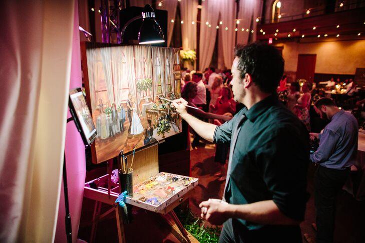 Live Painter Entertainer