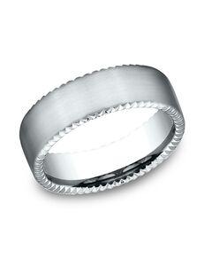 Benchmark CF717525W White Gold Wedding Ring