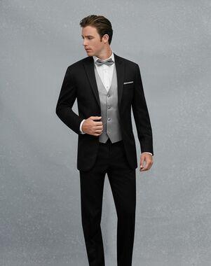 Jos. A. Bank Black Peak Lapel Tuxedo Black Tuxedo