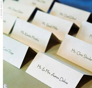 The Escort Cards