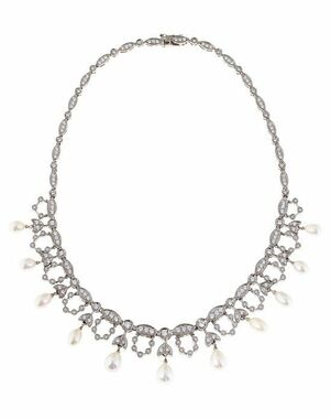 Thomas Laine Grace Pearl Necklace