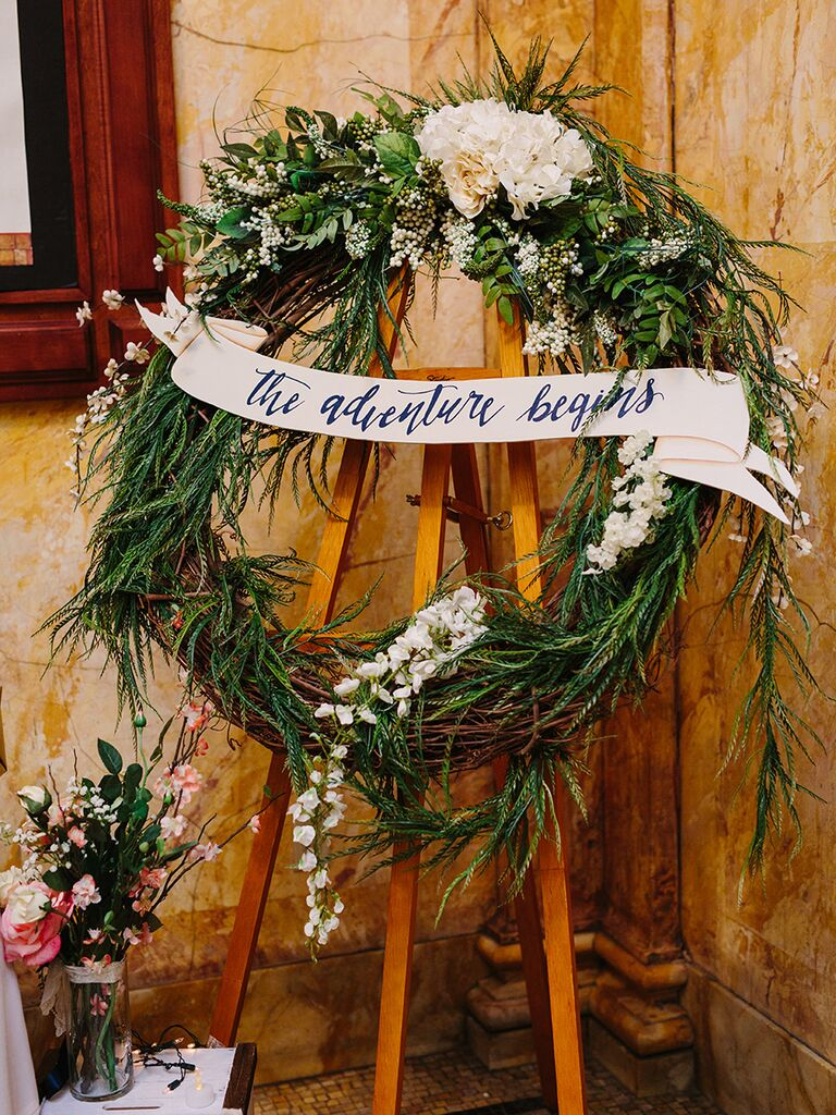 15 creative ideas for a travel themed wedding themed signage junglespirit Gallery