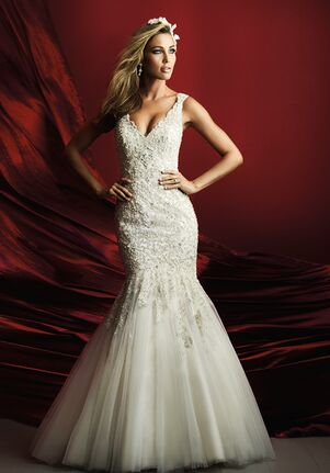 Allure Couture C369 Sheath Wedding Dress