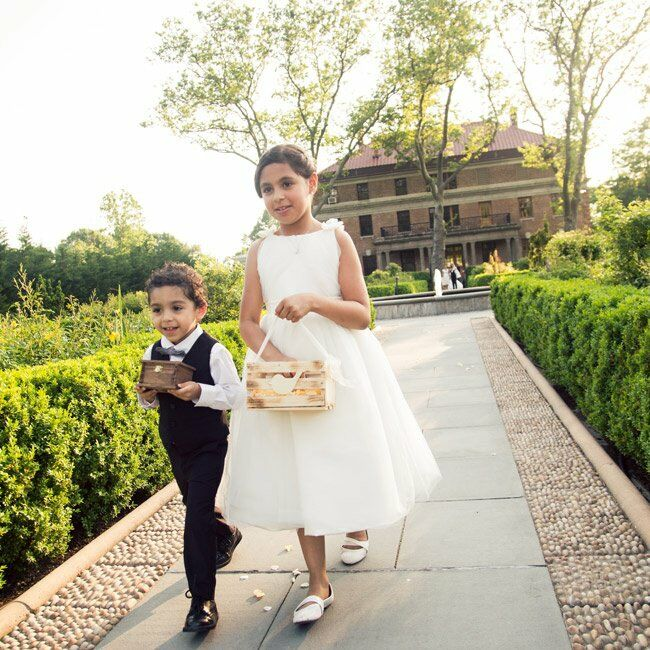 Classic Flower Girl and Ring Bearer