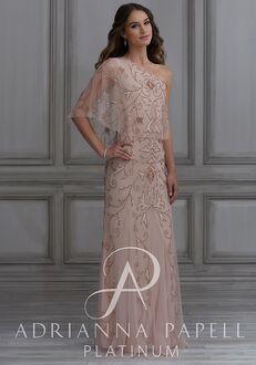 Adrianna Papell Platinum 40128 One Shoulder Bridesmaid Dress