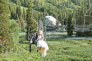 Ski Resort Mountain Wedding in Utah