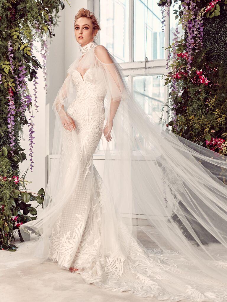 Rivini by Rita Vinieris Spring 2020 Bridal Collection cutout shoulder wedding dress
