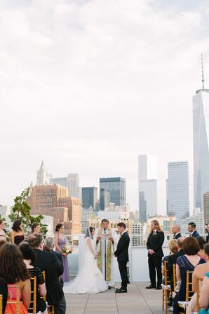 Loretta and Ryan Tribeca Rooftop Ceremony Vows