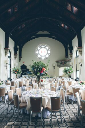 Gothic-Style Great Hall Reception