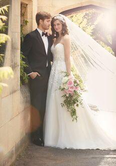 Essense of Australia D2000 Ball Gown Wedding Dress