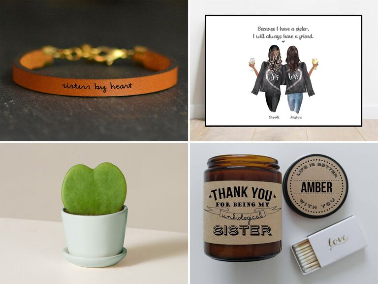 Wedding, birthday and Christmas gift ideas for sister-in-law