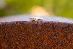 Round-Cut Diamond Engagement Ring