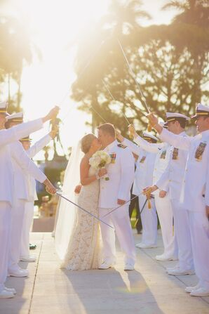 Traditional United States Navy Sword Arch