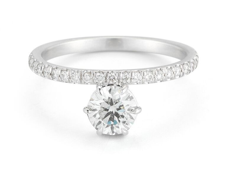 Forevermark by Jade Trau engagement ring