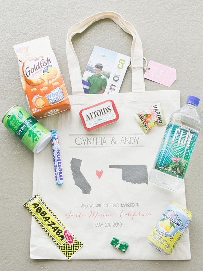 Our Favorite Wedding Welcome Bag Ideas