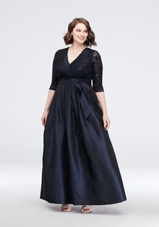 David's Bridal Mother of the Bride Jessica Howard Style JHDW5750 Black Mother Of The Bride Dress