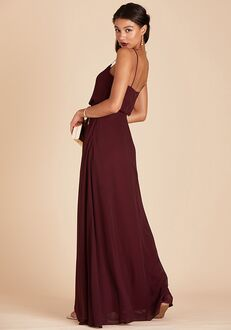 Birdy Grey Gwennie Bridesmaid Dress in Cabernet V-Neck Bridesmaid Dress