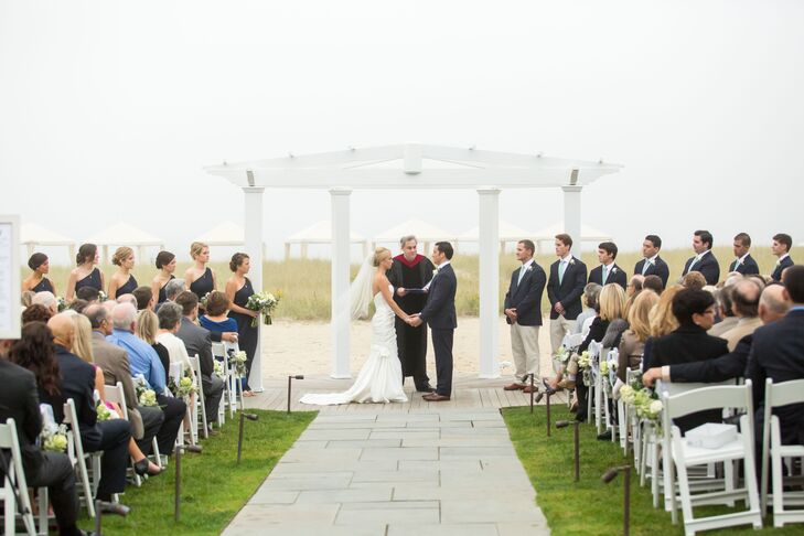 Beachfront Ceremony at Chatham Bars Inn