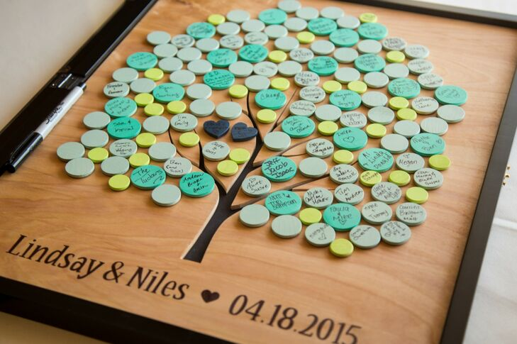 Bead Tree Guest Book