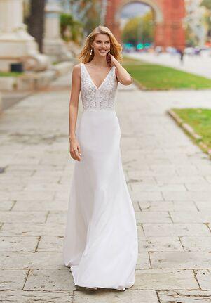 Rosa Clará TANGER Sheath Wedding Dress