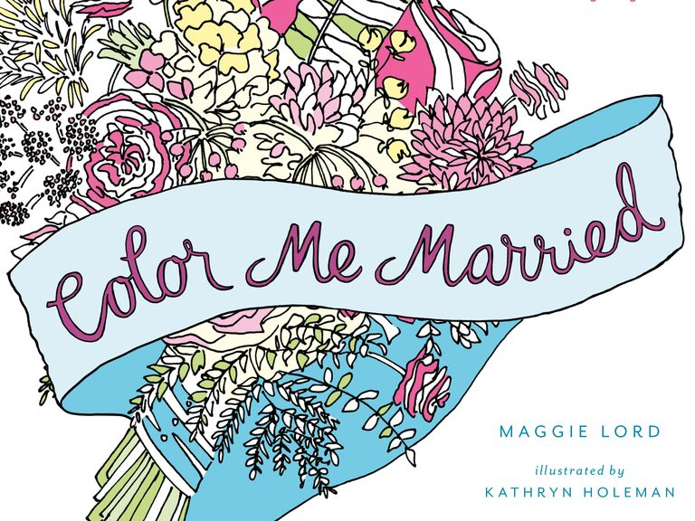 - How To Add The Coloring Book Trend Into Your Wedding Day Details