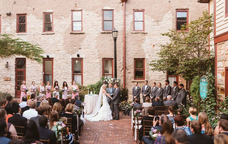 Simple Courtyard Ceremony