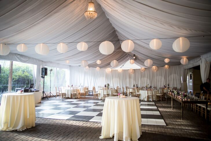 Tricia and Jason's Tented Wedding Reception