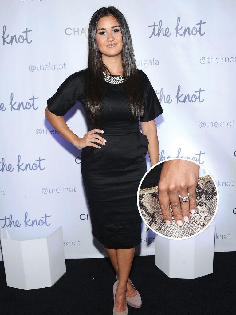 Catherine Giudici's engagement ring