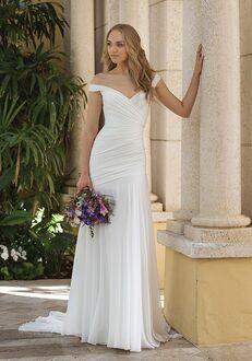 Sincerity Bridal 44084 Sheath Wedding Dress