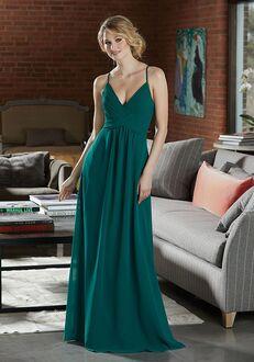 Morilee by Madeline Gardner Bridesmaids 21586 V-Neck Bridesmaid Dress