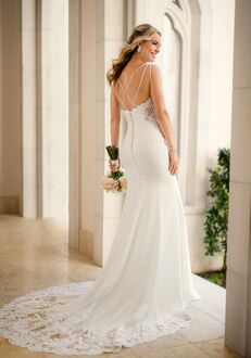 Stella York 6586 Sheath Wedding Dress