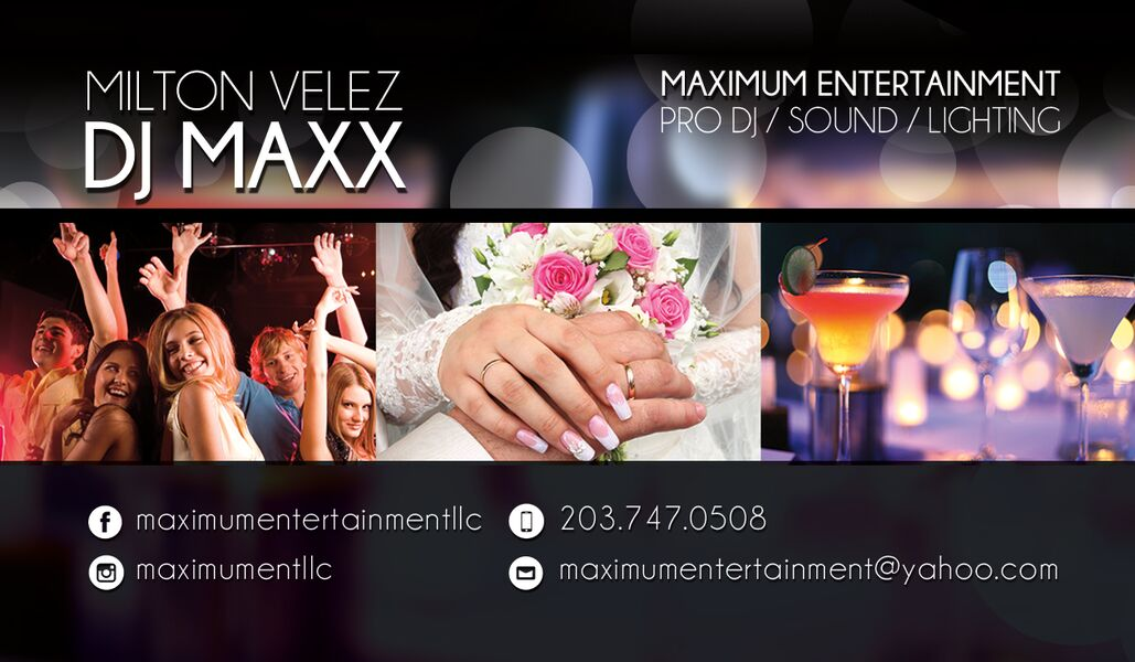 Maxximum Entertainment LLC DJ Maxx - Mobile DJ - Meriden, CT