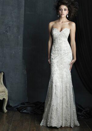 Allure Couture C383 Sheath Wedding Dress