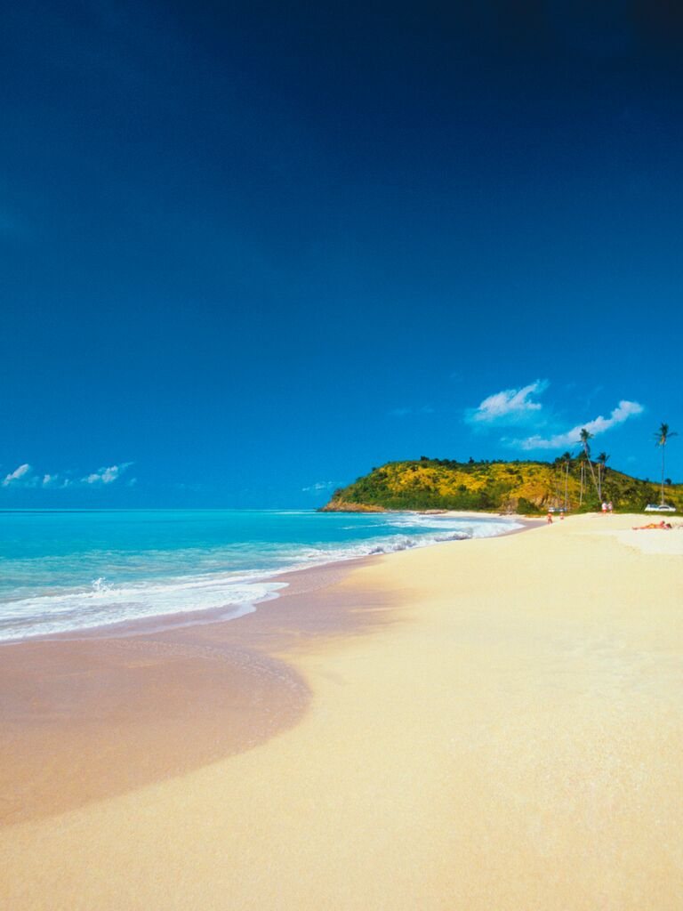 Caribbean wedding destination: Antigua