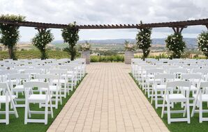 Pear Valley Winery Stone Terrace Ceremony