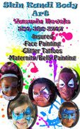 New Orleans, LA Face Painting | Skin Kandi Face Painting