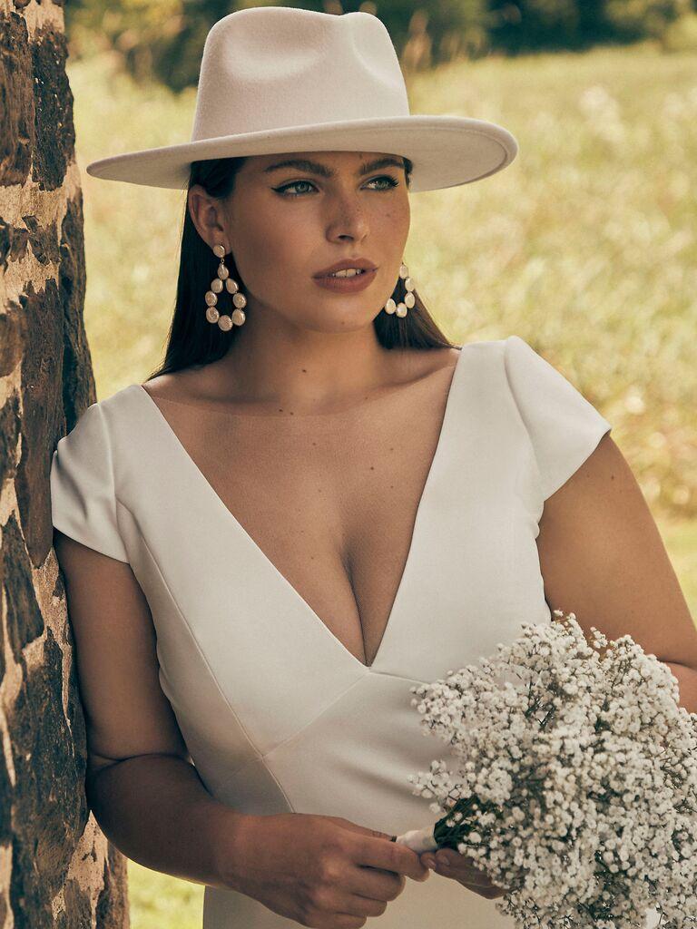 wedding hair pieces hat
