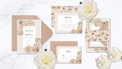 Rustic Rose Print & Design