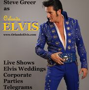 Orlando, FL Elvis Impersonator | Orlando Elvis & Steve Greer Weddings!