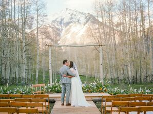 Classic Couple at Golden Ledge in Telluride, Colorado