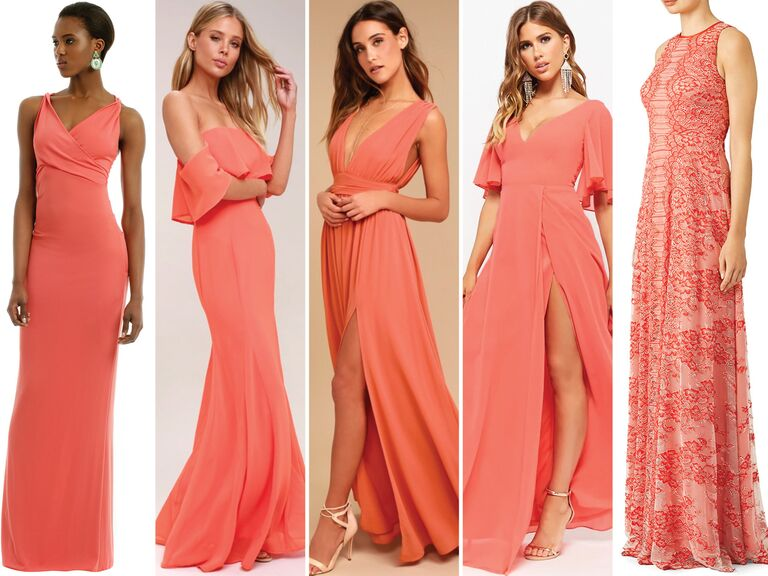 5 C Bridesmaid Dresses Under 100
