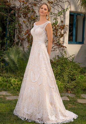 Beloved by Casablanca Bridal BL303 Ember A-Line Wedding Dress