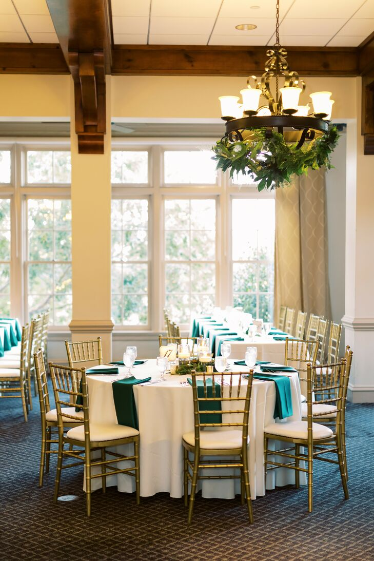 Indoor Reception at Ballantyne Country Club Wedding in Charlotte, North Carolina