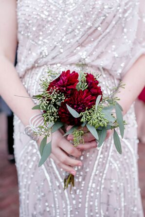 Personalized Bridesmaid Bouquets