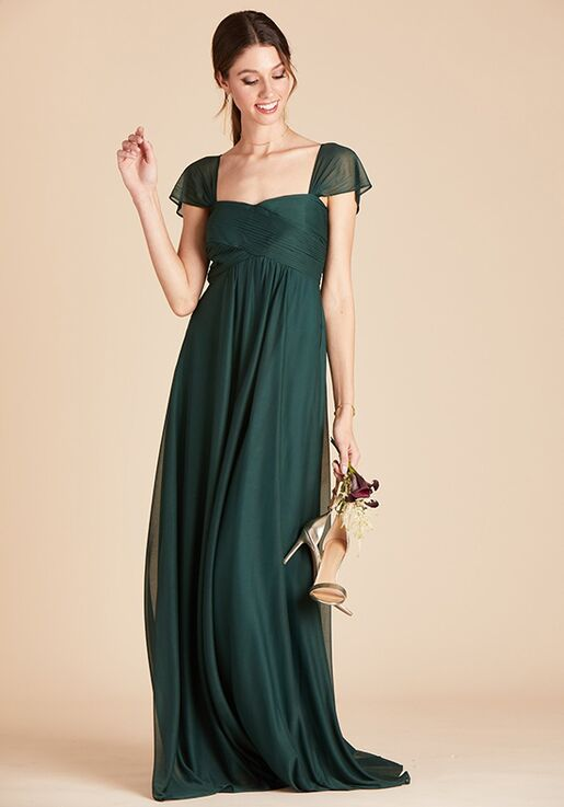 Birdy Grey Maria Convertible Dress in Emerald Sweetheart Bridesmaid Dress