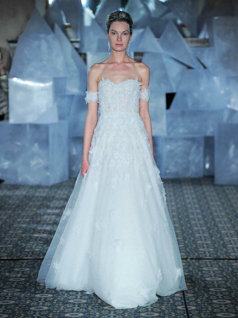 Mira Zwillinger Spring 2019 Collection: Bridal Fashion Week Photos
