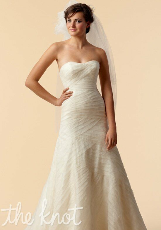 Watters brides 6078b wedding dress the knot for Wedding registry the knot