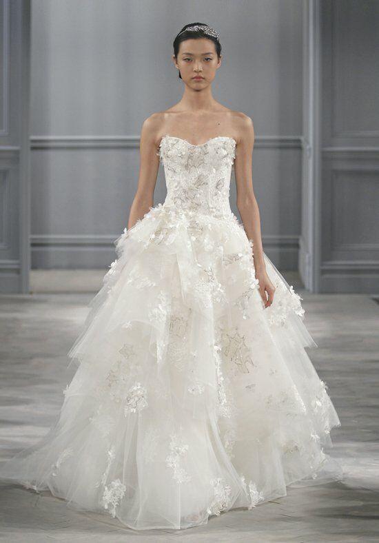 Monique Lhuillier Bijou Wedding Dress - The Knot